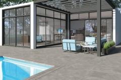 Carrelages terrasse piscine a Lyon