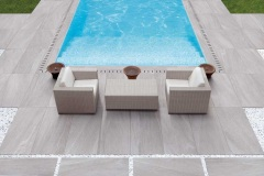 Dalles cerame terrasse 2 cm Chambery