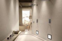 Carrelage contemporain salle de bains Chambery